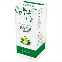 100ml Ayurvedic P-Vita Syrup