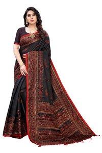 Khadi Silk  Collection With Khadi Silk Blouse