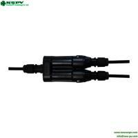 Wholesale Standard Waterproof Pv4.0 Inline Solar Branch Fuse Connector 1500vdc
