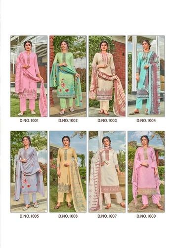 PALAK By Shree Ram Fabrics Soft Cottan Digital Printed Dress Materials