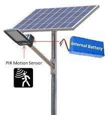 20w semi integrated solar street light