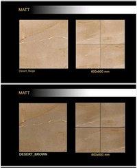 600 x 600 mm Polished glazed porcelain floor tiles