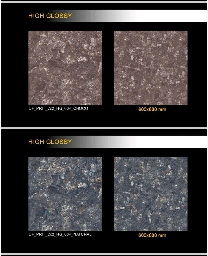 600x600 Mm Polished Glazed Porcelain Tiles