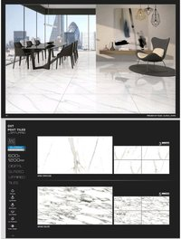 600 X 1200 Mm Polished Glazed Porcelain Tiles