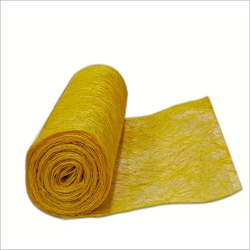 Yellow Abaca Roll