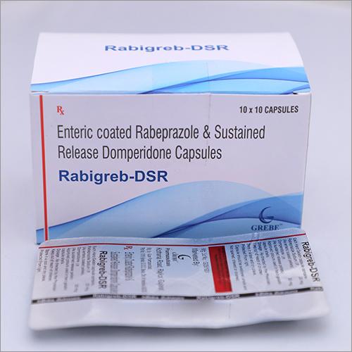 Enteric Coated Rabeprazole Sustained Release Domperidone Capsules