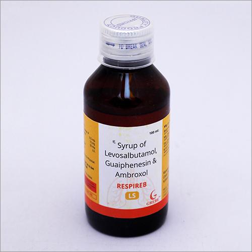 Levosalbutamol Guaiphenesin Ambroxol Syrup