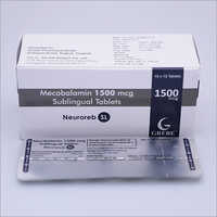 1500 MCG Mecobalamin Sublingual Tablets