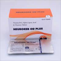Vitamin B12 Alpha Lipoic Acid Vitamins Tablets