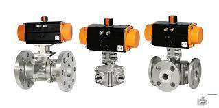 Pneumatic Actuator Ball Valve