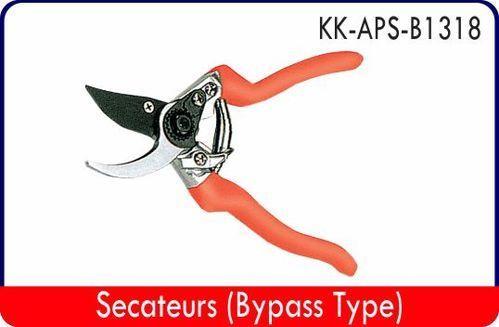 Yellow Secateurs ( By Pass Type) - Kk-aps-b1318