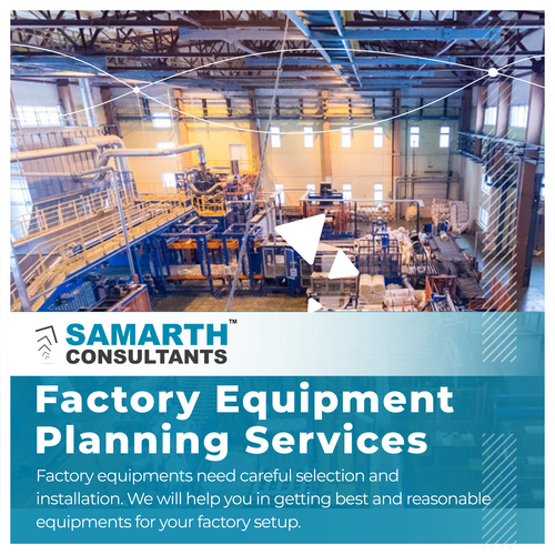 Factory Equipment Planning Services
