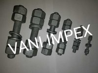Astm B7 Stud Bolts And 2h Heavy Hex Nuts