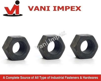 Astm A 194 Grade 2H Nuts (Heavy Hex Nut)