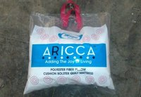 Aricca Soft Microfiber Sofa Cushion, Size: 16 X 16 Inches, White