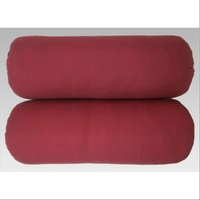 Touch Pillows Polyester Fiber Bolsters, Size: 9 X 24 Inches, Maroon