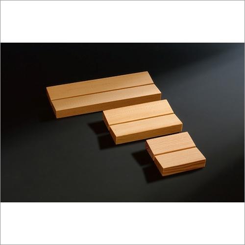Natural Wooden Soap Holder -KANUMA- Made of Japanese Pine Minimal Design