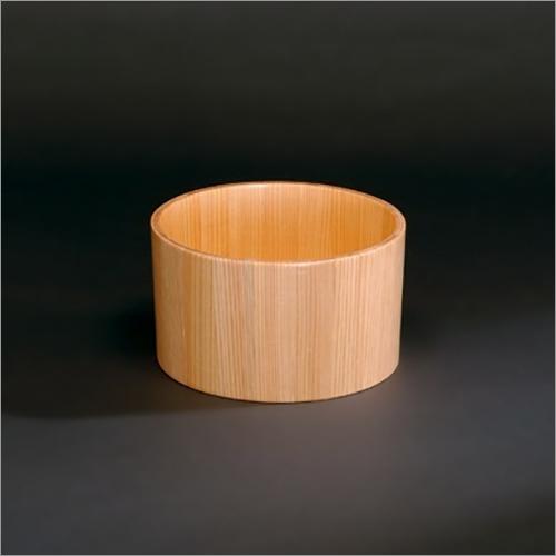 Natural Wooden Hot Water Pot -KANUMA Yuoke- Made of Cypress Minimal Design Handmade