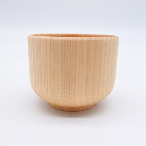 Natural Wooden Handmade Sake Cup Drinkware Made in Japan