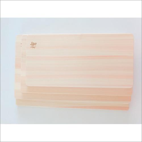 Natural Wooden Handmade Light Type Cutting Board Made Of Nikko Cypress High Grade