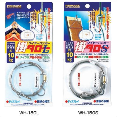 Unique Stainless Steel Wire Garment Hook Hanger Storage Organizer Closet Space Saving Made in Japan