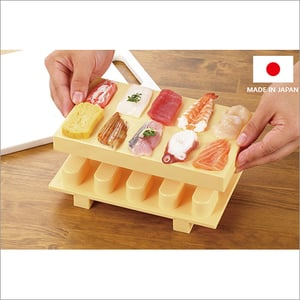 Unique Sushi Easy Making Tool 10 Sushi At A Time Cookware Dinnerware Made in Japan