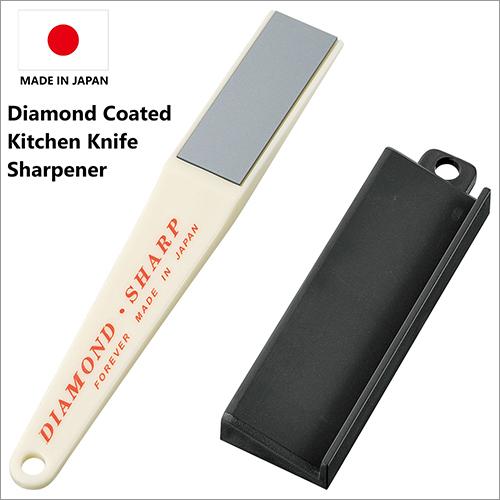 Japan Made Diamond Coated Kitchen Knives Sharpener For Ceramic, Titanium, Steel, Stainless Steel