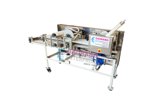 Rice Papad Pressing Machine