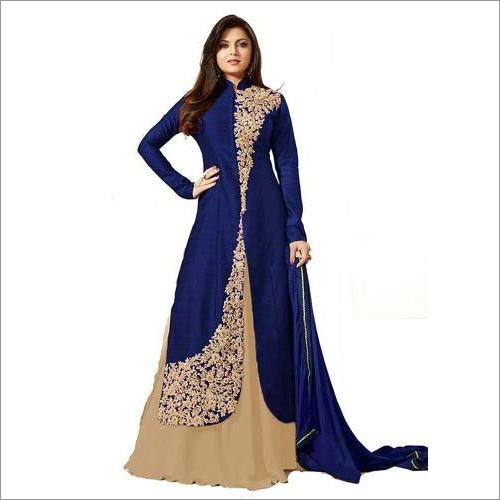 Blue Bangalore Salwar Suit