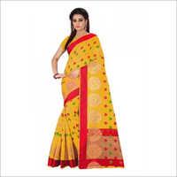 Formal Cotton Silk Saree