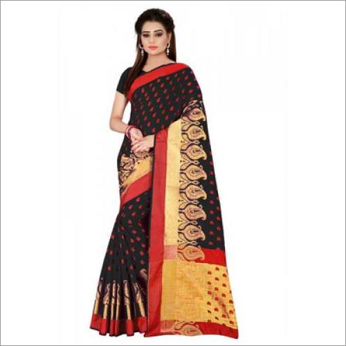 Festival Wear Cotton Silk Sarees