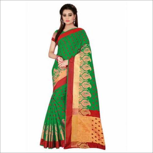 Women's Cotton Silk Saree