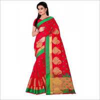 Wedding Cotton Silk Saree