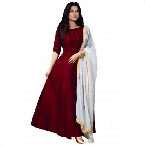 Ladies Fancy Long Gown