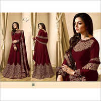Heavy Codding Georgette Gowns