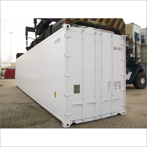 White Modular Refrigerated Container