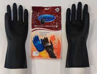 Victor Industrial Black  Hand Gloves
