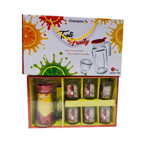 7Pcs Lemon Juice Glass Set