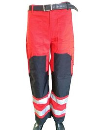 High Quality 100% Cotton Industrial Safety Workwear Multi Pockets Cargo Pants With Cordura Knee Protection