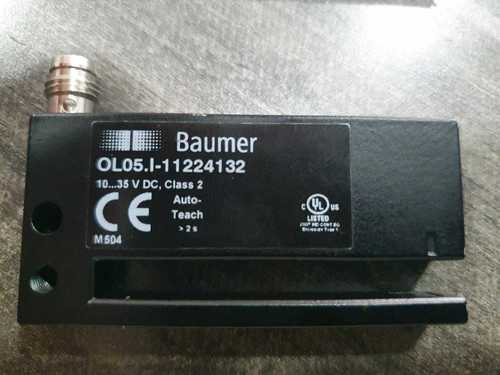 Baumer Non-Transparent label gap Sensor