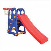 4 Step Park Slide With Basketball Game