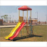 Double Wave Playground Slide\