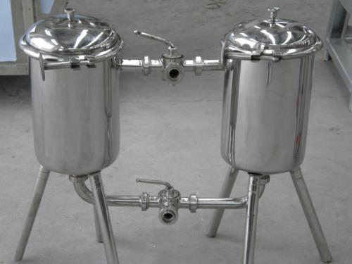Stainless Steel Double Filter