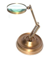 Table Top Brass Magnifying Glass