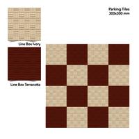 300 X 300 Mm Parking Tiles