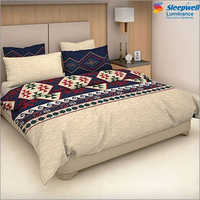 Sleepwell Luminance Cotton Bedsheet With Pillow Cover