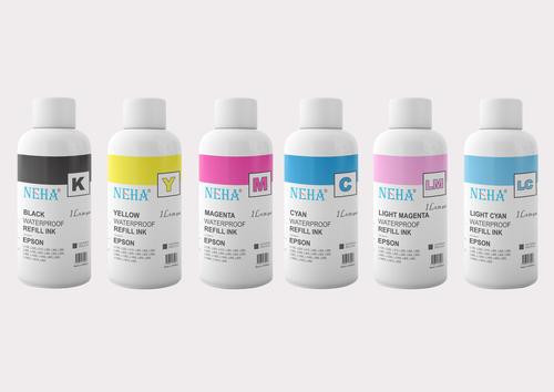 NEHA SUBLIMATION INK FOR USE IN EPSON L800 , L100 , L110 , L130 , L200 ( 1Litre)