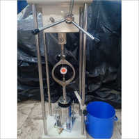 5 Ton Mild Steel Misty Gray Swell Test Apparatus Capacity