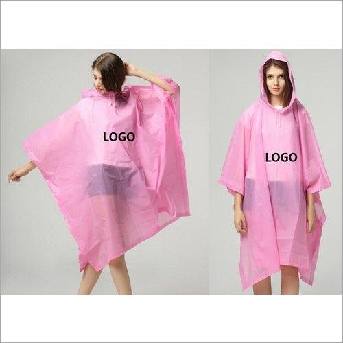 Plastic Promotional Raincoat