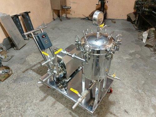 Sanitizer Filter Press